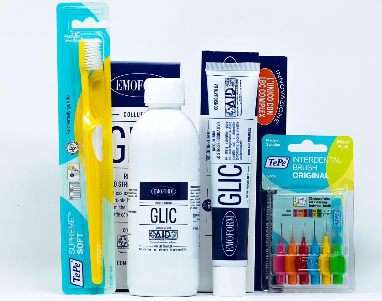 Emoform/TePe Kit Pazienti Diabetici - Set Completo