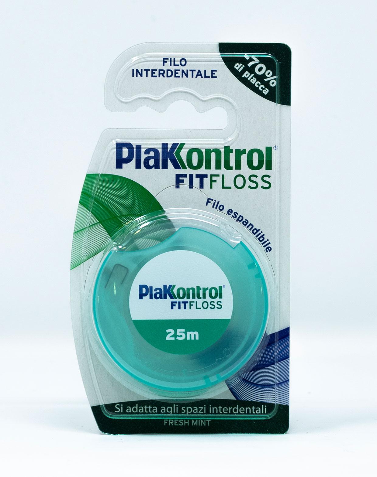 Plakkontrol Filo Interdentale Fit-Floss – 25 m