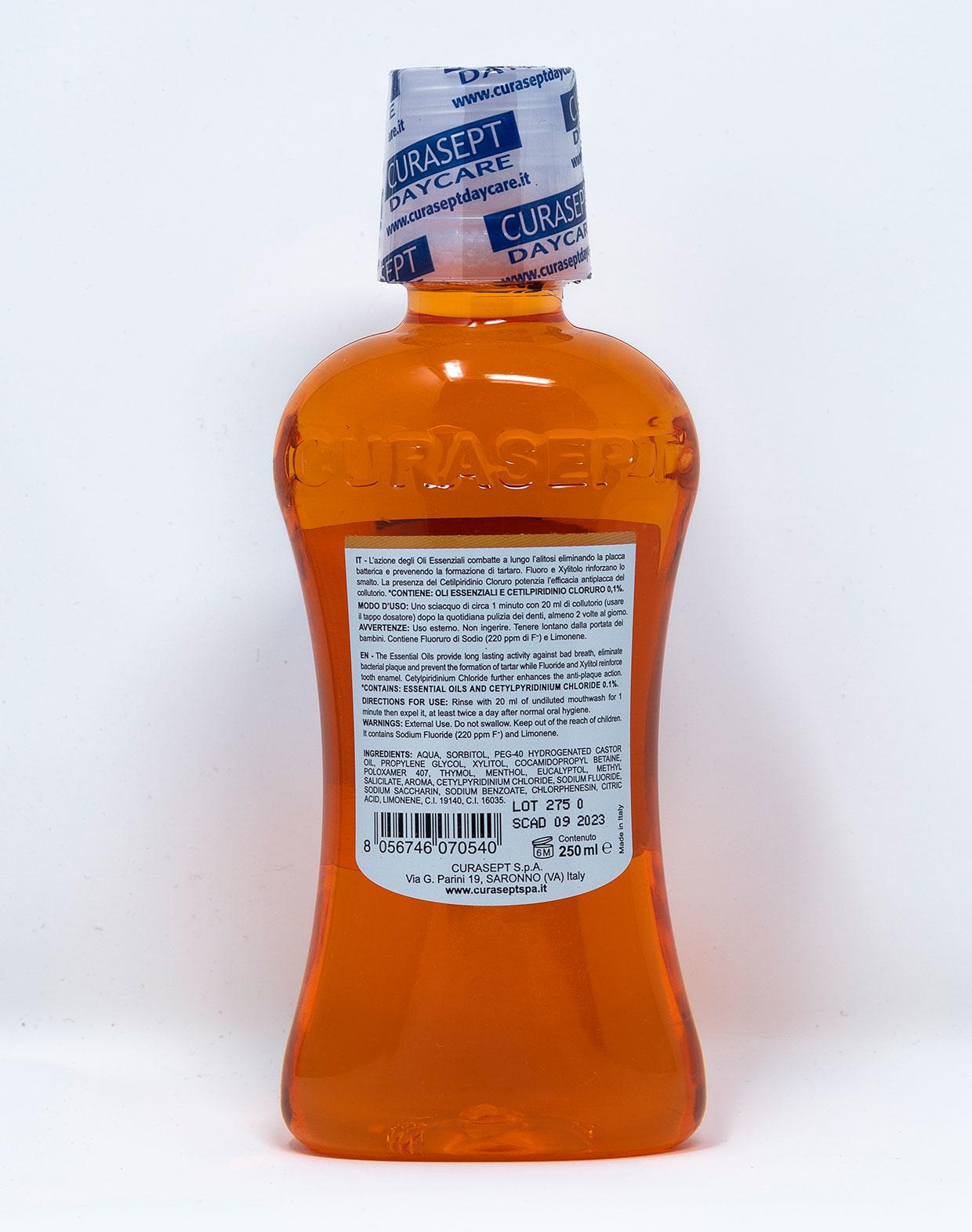 Curasept Collutorio Daycare Agrumi Con CPC 0,1% - 250 ml