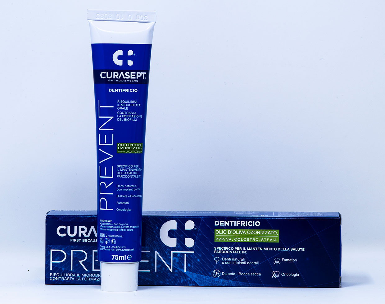 Curasept Dentifricio Prevent - 75 ml