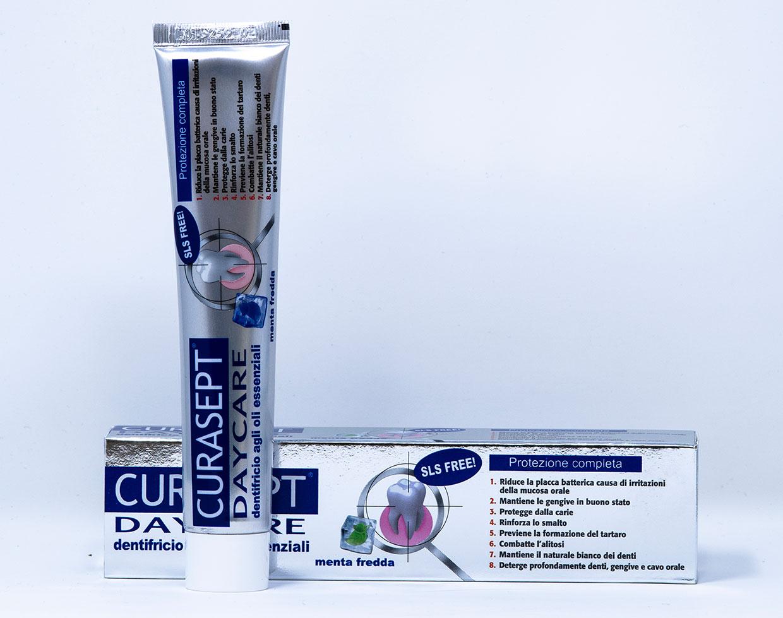 Curasept Dentifricio Daycare Protezione Completa Menta Fredda - 75 ml