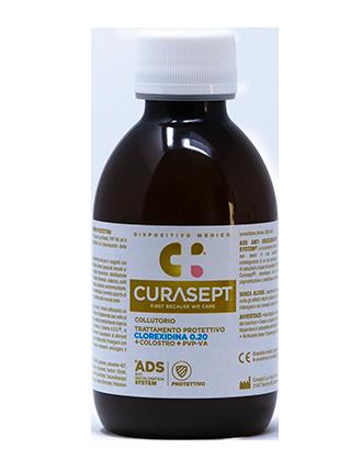 Curasept Collutorio ADS Trattamento Protettivo 0,20% Con Colostro - 200 ml
