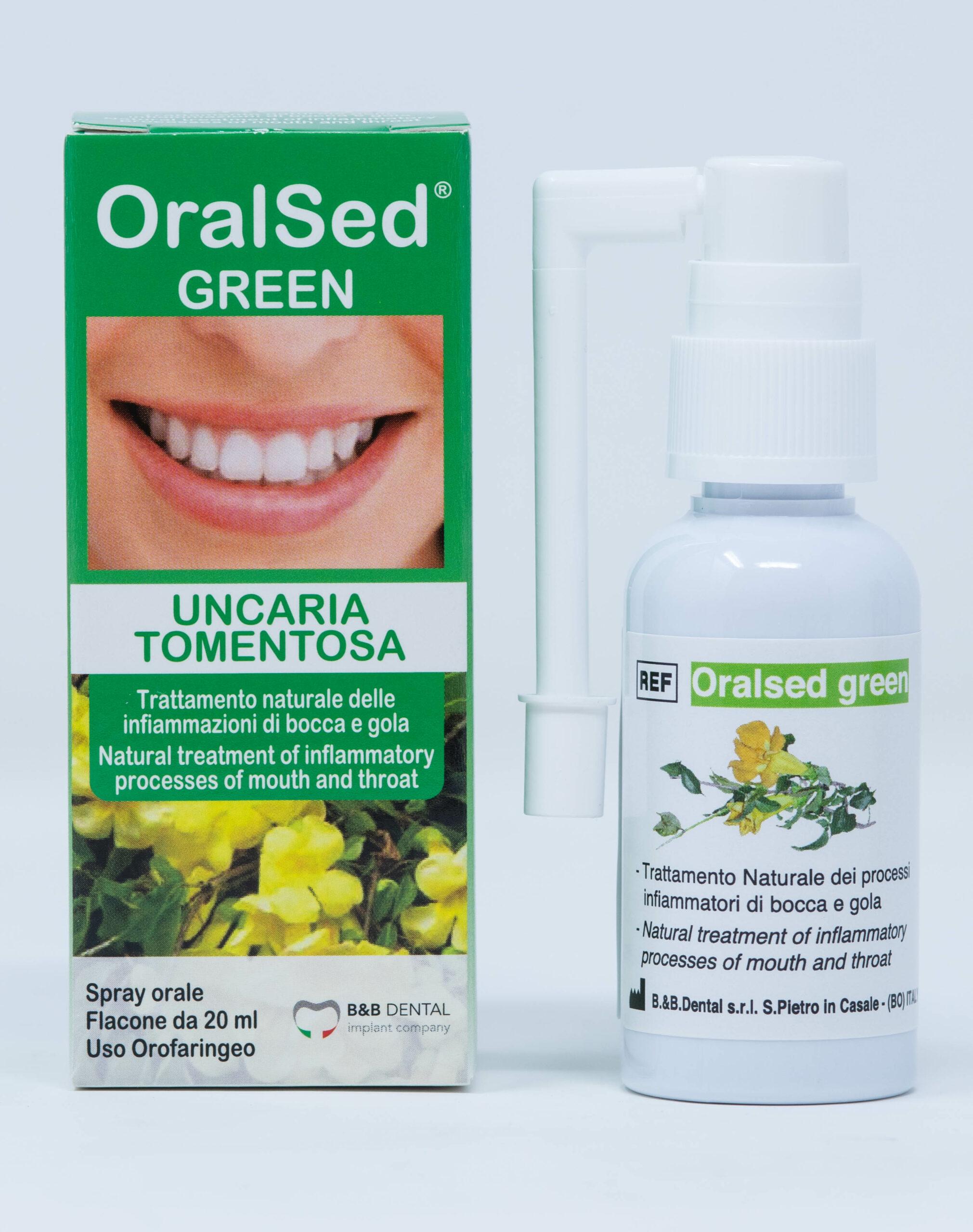 OralSed Green Spray - 20 ml