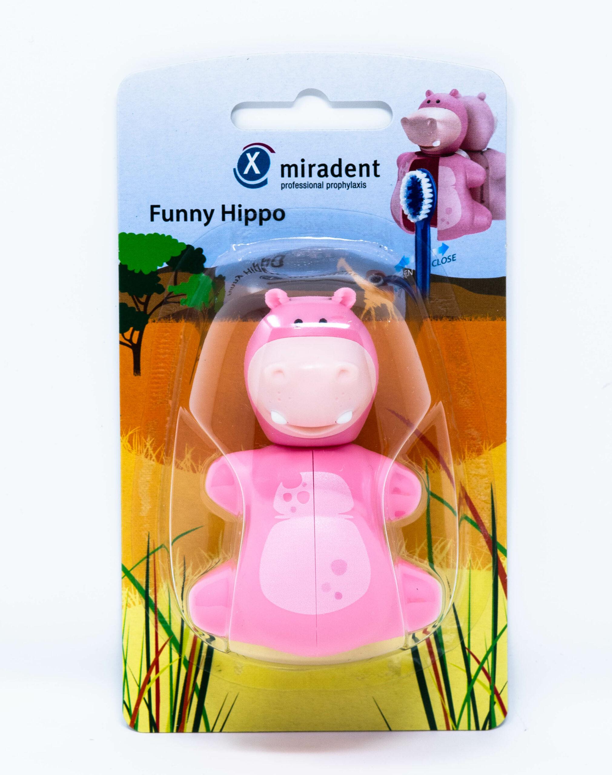 Miradent Porta Spazzolino Hippo - 1 pz