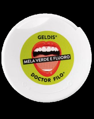 Geldis Doctor Filo Filo Interdentale Espandibile alla Mela Verde con Fluoro - 30 mt
